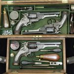 civil war revolvers case