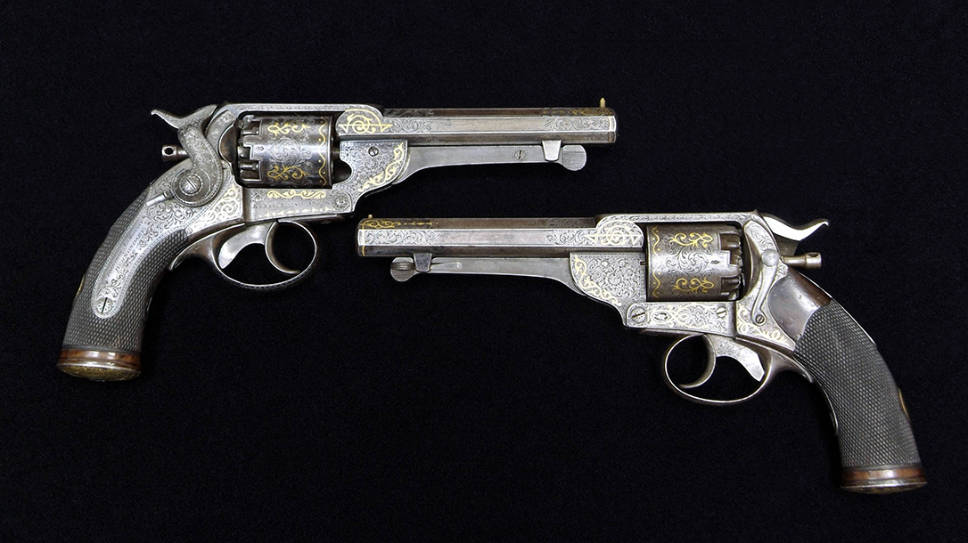 civil war revolvers comparison