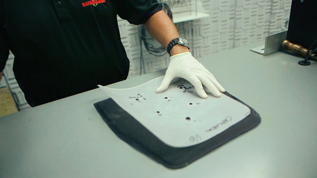 bullet resistant body armor safariland lab