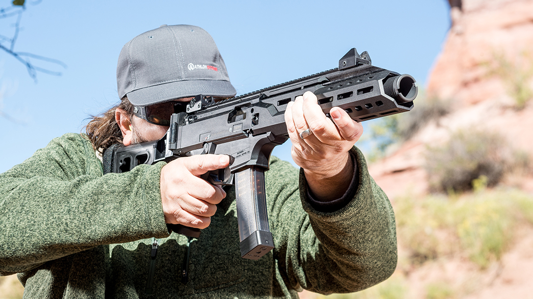 cz scorpion evo 3 rifle submachine gun test