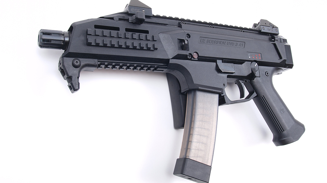 cz scorpion evo 3 rifle submachine gun