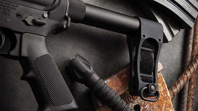 DoubleStar Strongarm pistol brace beauty shot