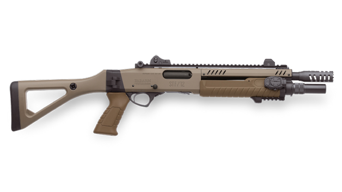portuguese special operations fabarm stf 12 shotgun