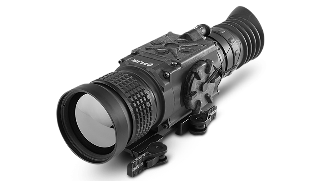 FLIR ThermoSight Pro PTS536 scope left angle