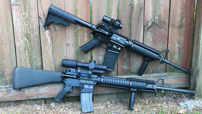 fn military collector m16 m4 rifles comparison