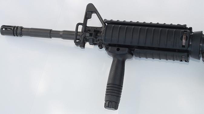 fn military collector m16 m4 rifles suppressor