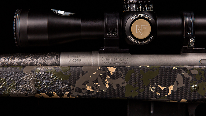 gunwerks copilot rifle closeup