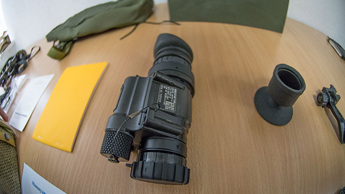 AN/PVS-14 Night Vision Monoculars closeup
