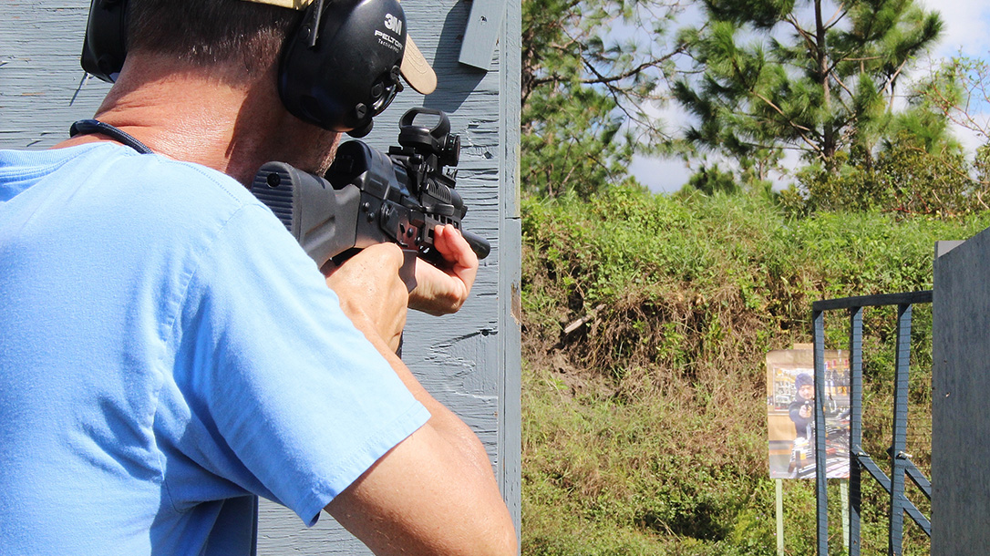 royal tiger imports io EM-12B shotgun range test