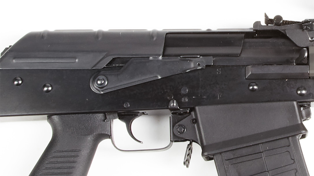 royal tiger imports io EM-12B shotgun mag release
