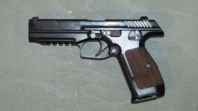kalashnikov pl-14 handgun left profile