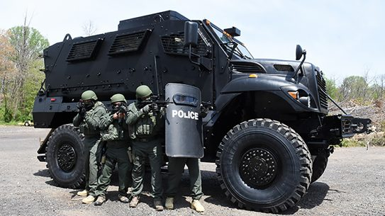 mrap police vehicle