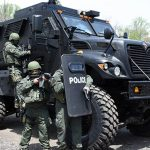 mrap vehicle police protection