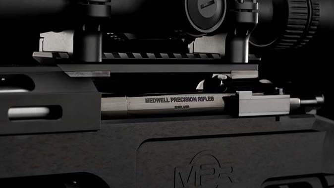 Medwell Precision Rifles action