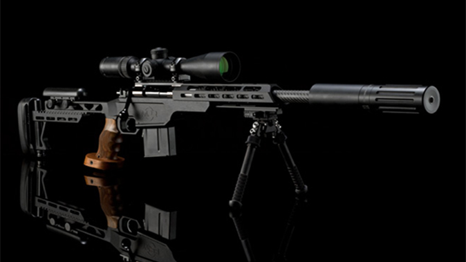 Medwell Precision Rifles wraith suppressor