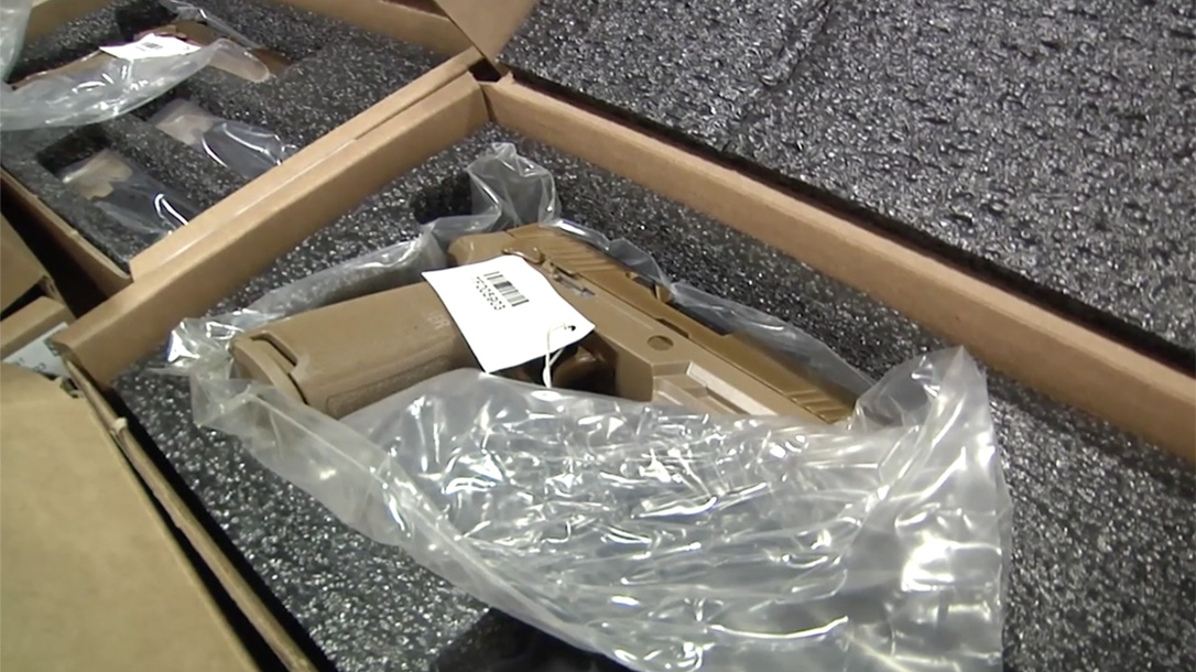 modular handgun system pistol unboxed