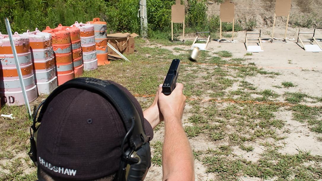 ocean view pd glock target practice