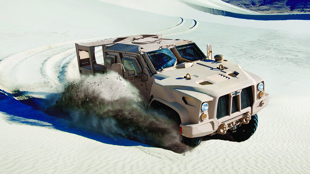 Oshkosh JLTV vehicle