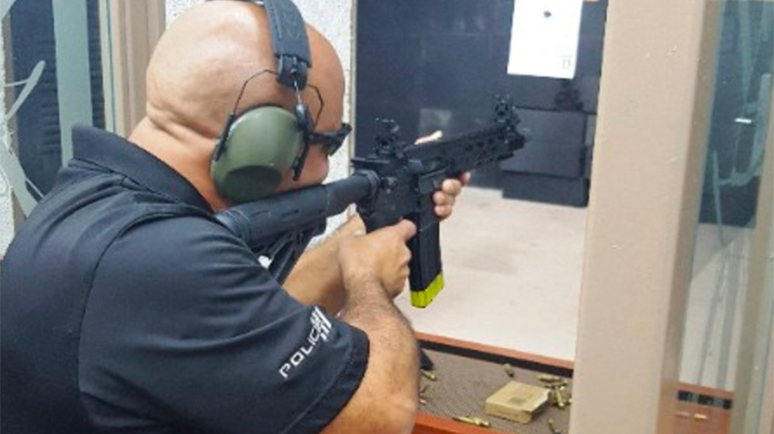 bayamon police br4 diablo rifle test