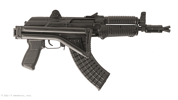Arsenal SAM7SFK SBR rifle folded stock