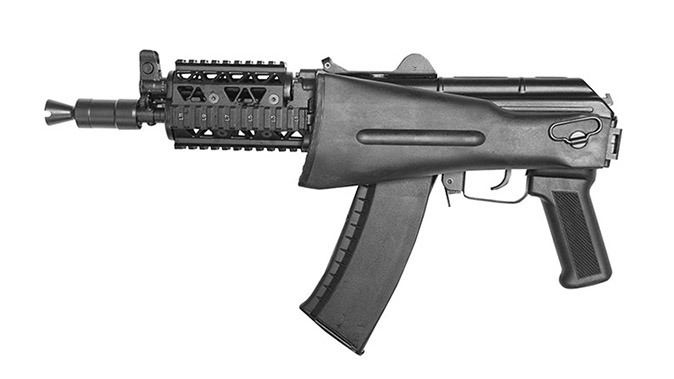 Arsenal SLR-104UR SBR rifle folded stock