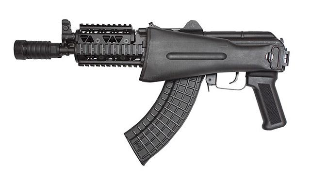 Arsenal SLR-107UR SBR rifle folded stock