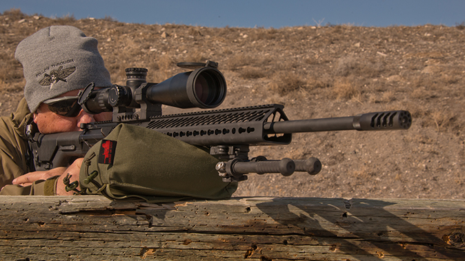 Seekins Precision SP10 6.5 Creedmoor rifle shooting