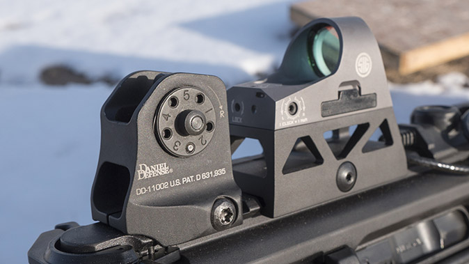 sig mcx rattler rifle rear sight