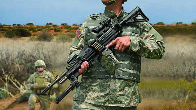 textron systems lightweight small arms technology machine gun
