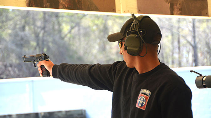 american soldiers usamu national match pistol courses