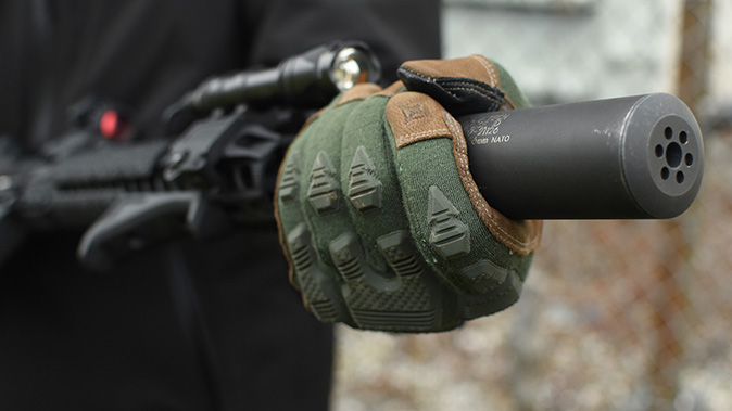 Vertx tactical gloves FR Breacher glove suppressor