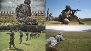 usamu american soldiers marksmen training