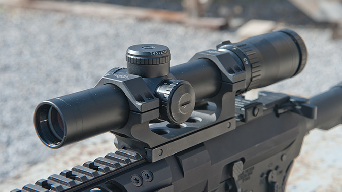low-powered optics bushnell elite tactical smrs