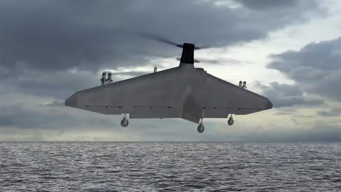 Northrop Grumman TERN mux drone