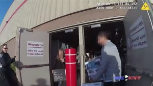seattle costco thieves body cam arrest