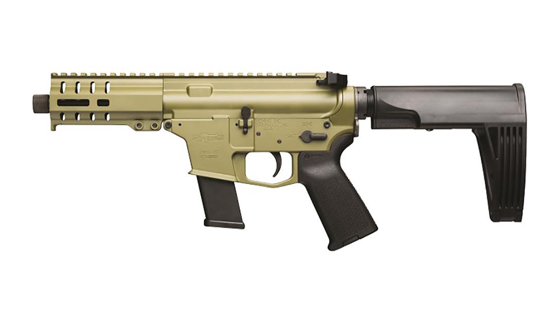 CMMG Banshee 45 acp pistol left profile
