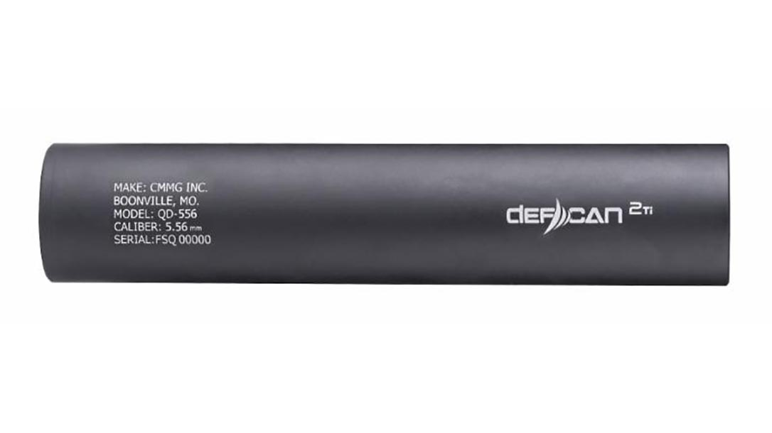 cmmg defcan 2Ti suppressor