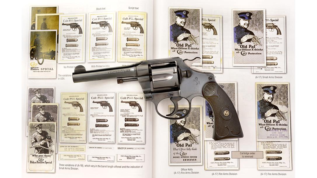 colt police positive revolver book of colt