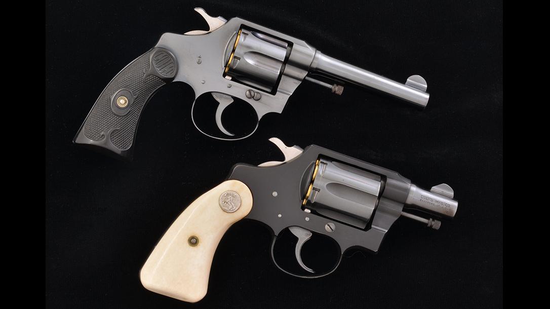 colt police positive revolver colt banker's special