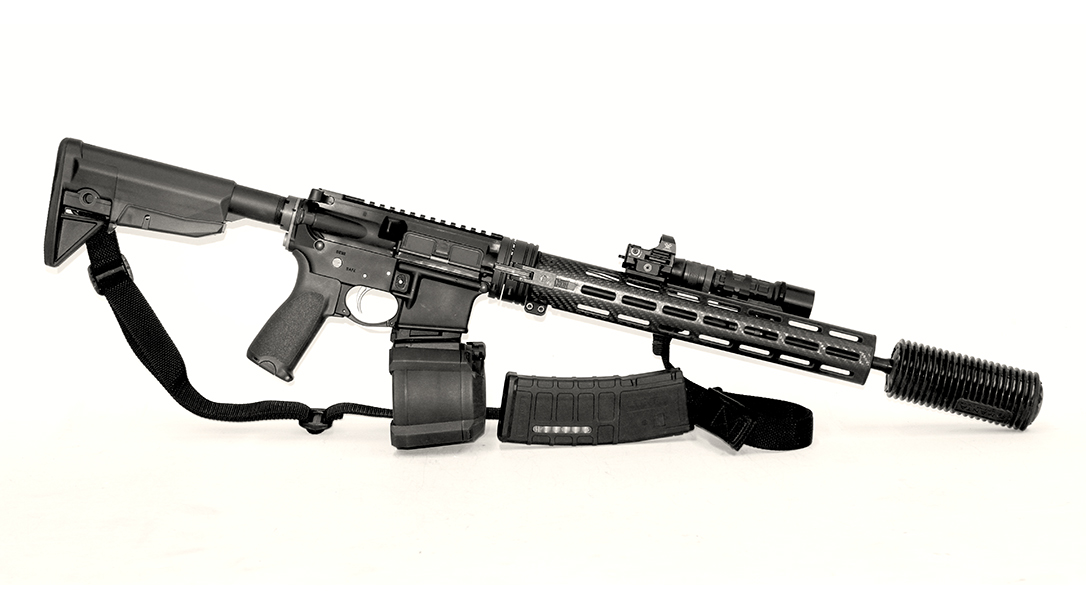 Cry Havoc Tactical QRB Kit rifle right profile