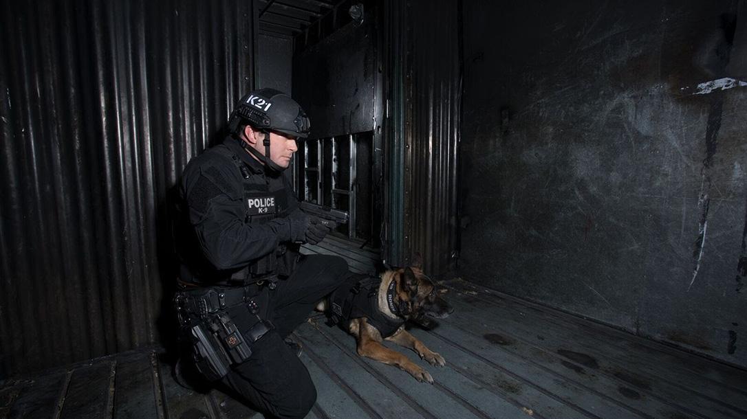 glock pistols police k9