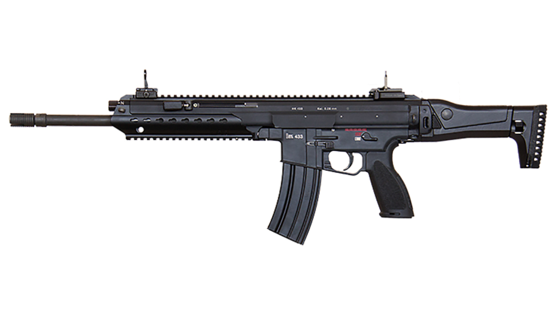 Heckler & Koch HK433 rifle g36 replacement
