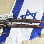israeli k98 rifle right profile