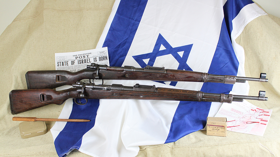 israeli k98 rifle right profile