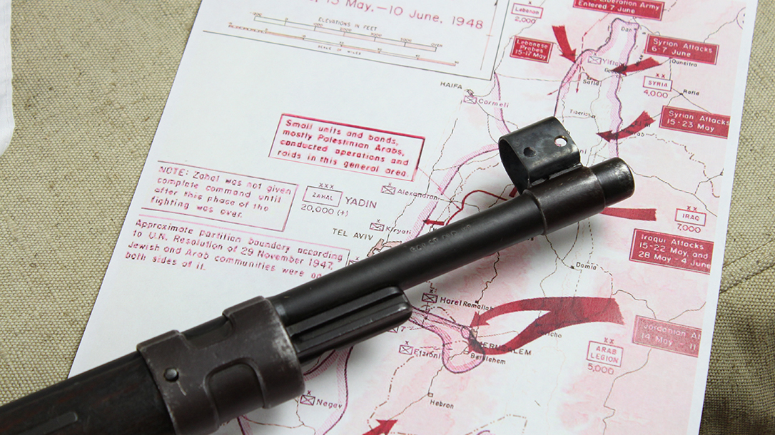 israeli k98 rifle barrel