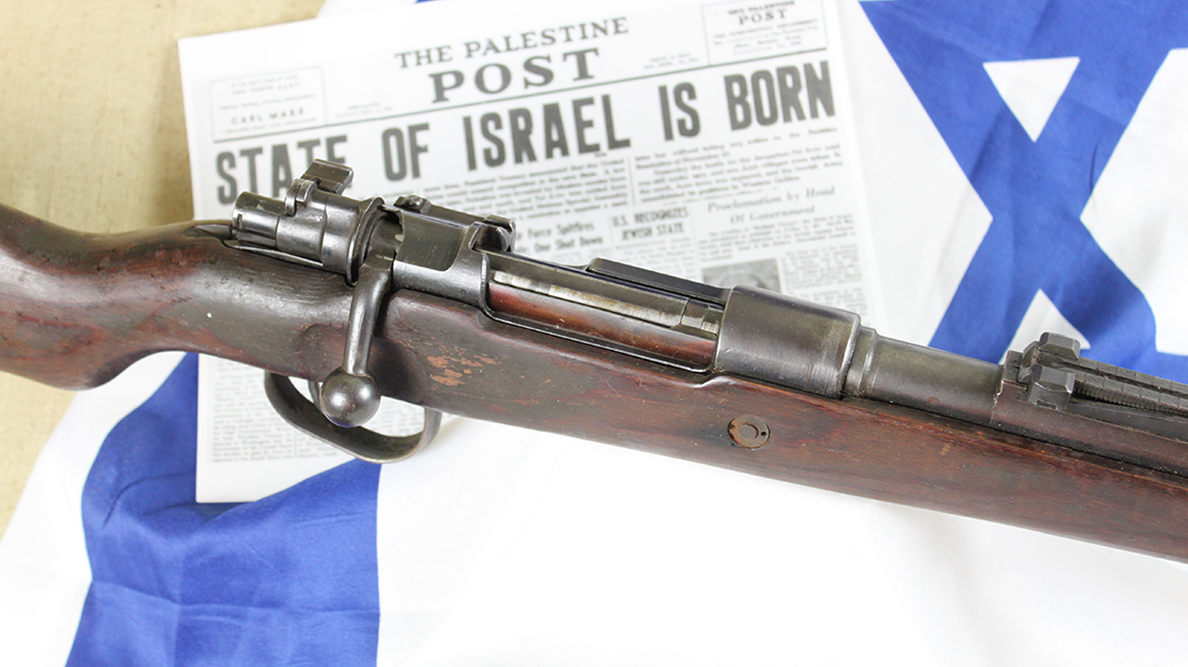 israeli k98 rifle receiver