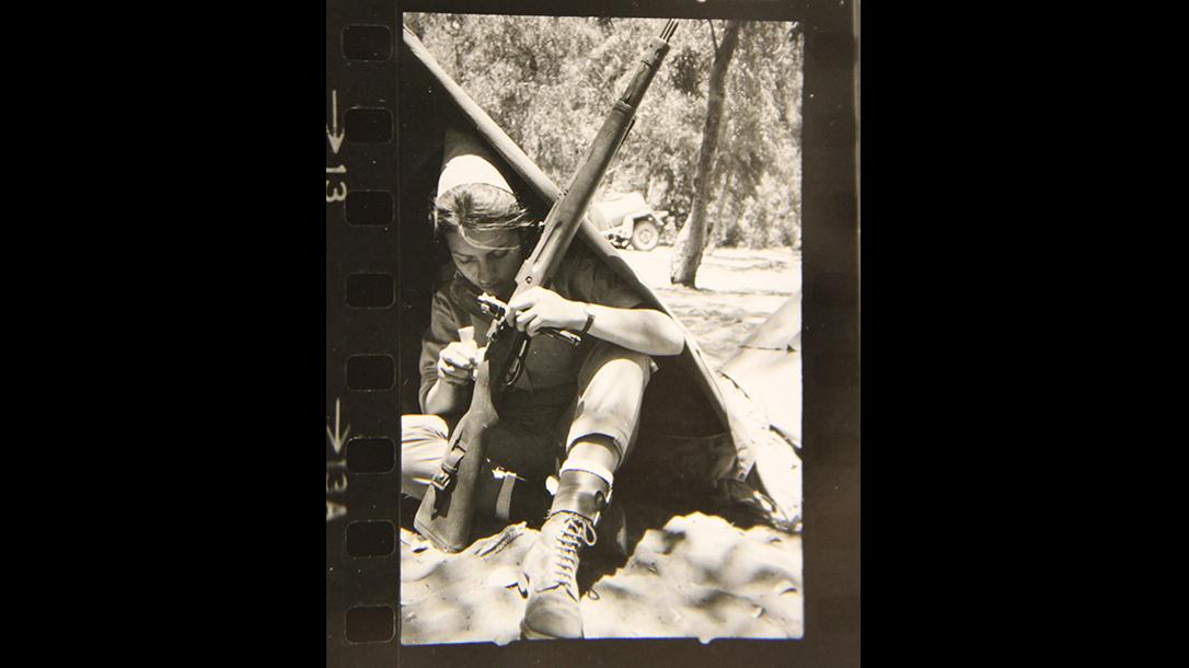 israeli k98 rifle IDF soldier