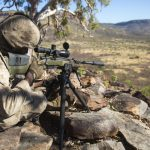 marines mk 13 mod 7 m40 sniper rifle mountain shooting