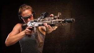 Meridian Defense MDC-47 Volk rifle aiming
