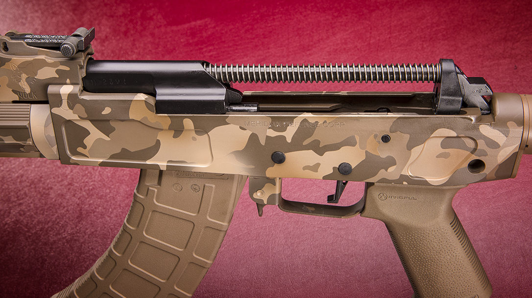 Meridian Defense MDC-47 Volk rifle assembly